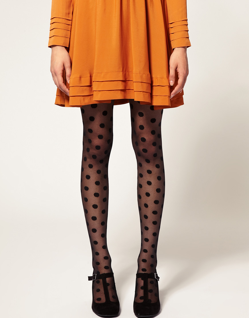Gipsy Big Spot Tights | Pinterest Picks - Spooky Style