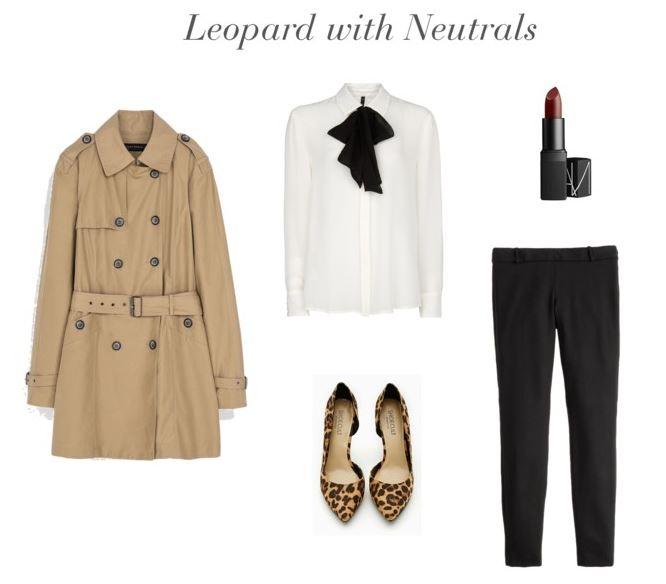 How She'd Wear It - Leopard with Neutrals | Leopard Prints