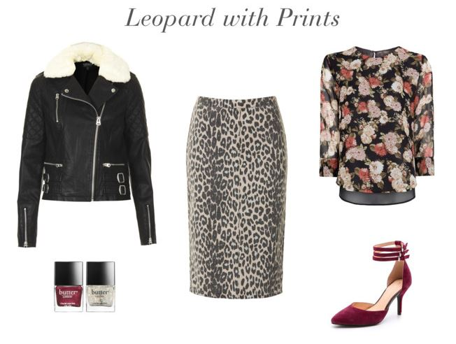 How She'd Wear It - Leopard with Prints   Leopard Print