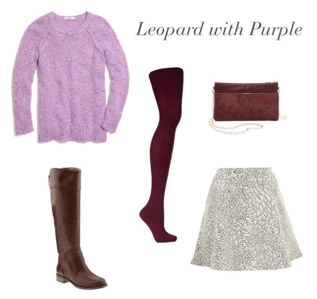 How She'd Wear It - Leopard with Purple   Leopard Prints