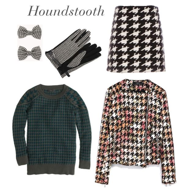 How She'd Wear It - houndstooth | Classic Patterns