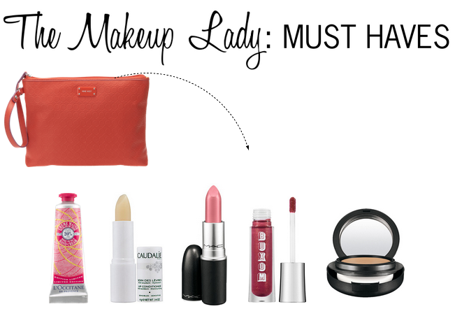 the makeup lady must haves