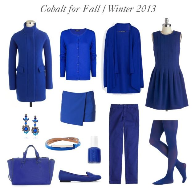 How She'd Wear It with Style and Cheek - Cobalt for Fall / Winter 2013