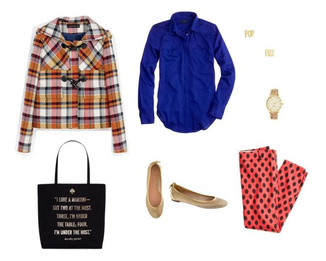 How She'd Wear It with Style and Cheek - Dressing Up Cobalt Blouse