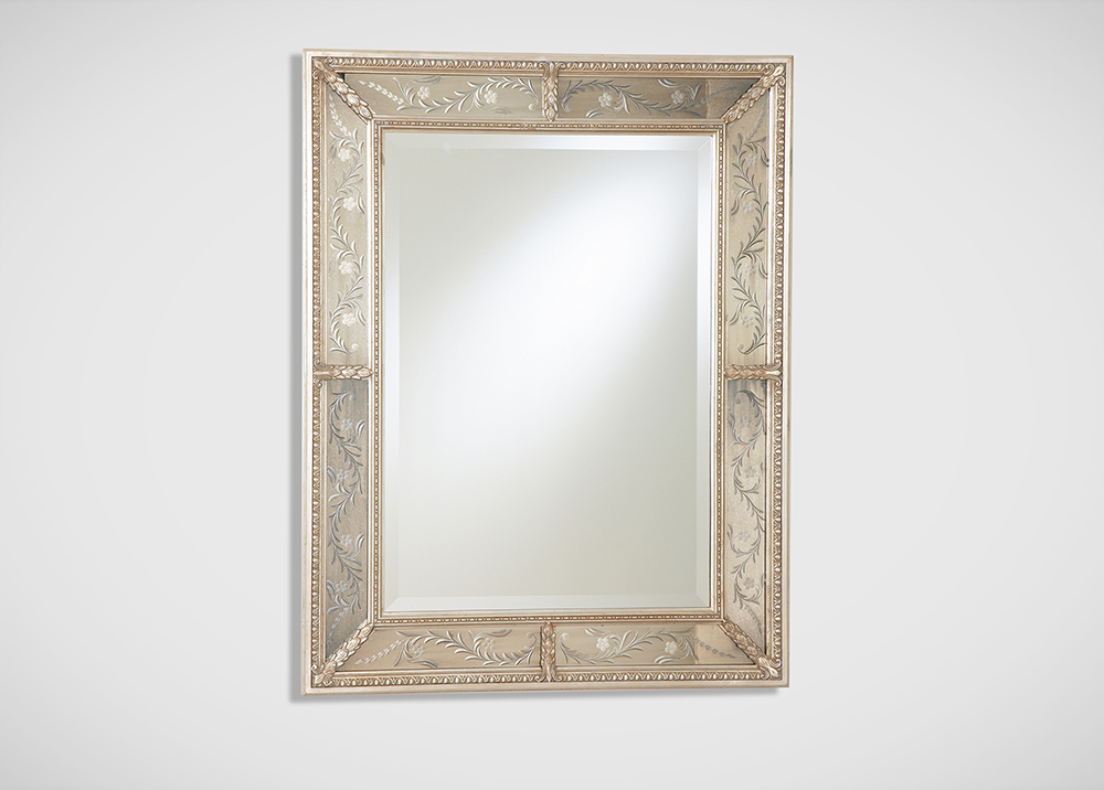 Ethan Allen Venetian Style Mirror | Fancy Friday - Dream Apartment Decorating