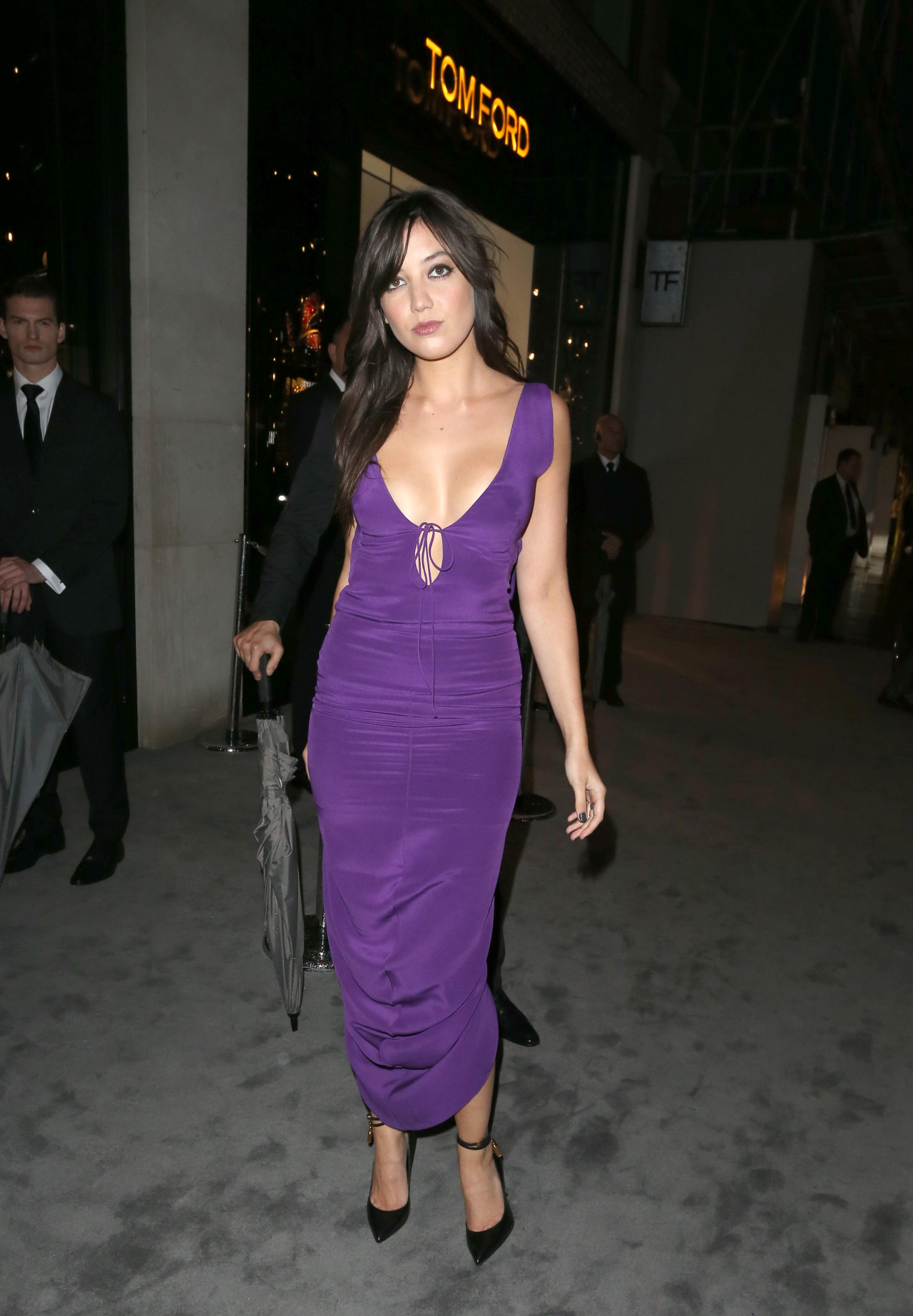 Daisy Lowe at Tom Ford store opening London Fashion Week | Pinterest Picks - Happy Birthday Daisy Lowe