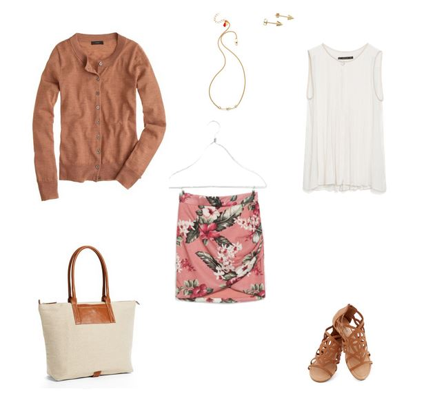 How She'd Wear It with Style and Cheek - Pink with Neutrals