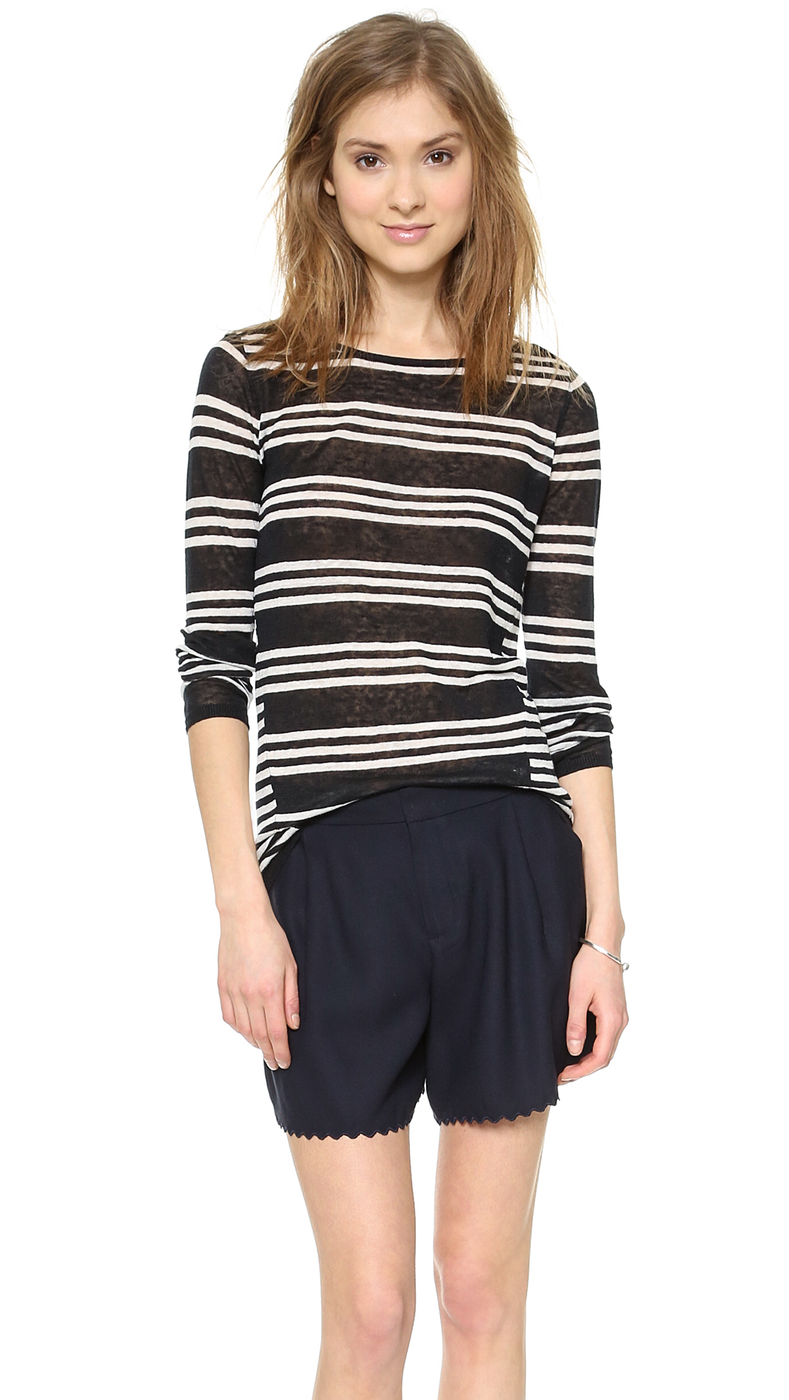 5cacc62f32 Club Monaco Lana Sweater | Pinterest Picks - Black and White Stripes
