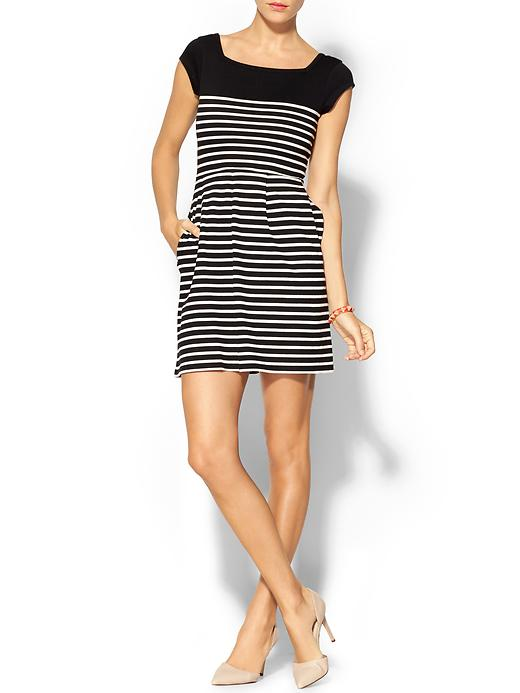 5f935d90df French Connection County Cotton Stripe Dress | Pinterest Picks - Black and White  Stripes