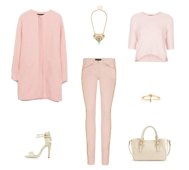 How She'd Wear It with Style and Cheek - Light Pink | Monochromatic Pink