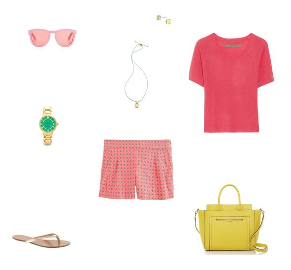 How She'd Wear It with Style and Cheek - Preppy Pink | Monochromatic Pink
