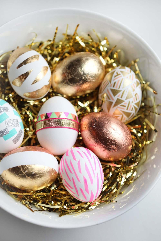 It's DIY Time {Easter Egg Mania} | Miss Renaissance - Pinterest Picks - Decorating Easter Eggs