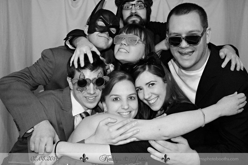 High school buddies at Justin and Kathryn's Wedding February 2014 | Justin and Kathryn's New Orleans Wedding | Style and Cheek's Favorite Blog Posts of 2014