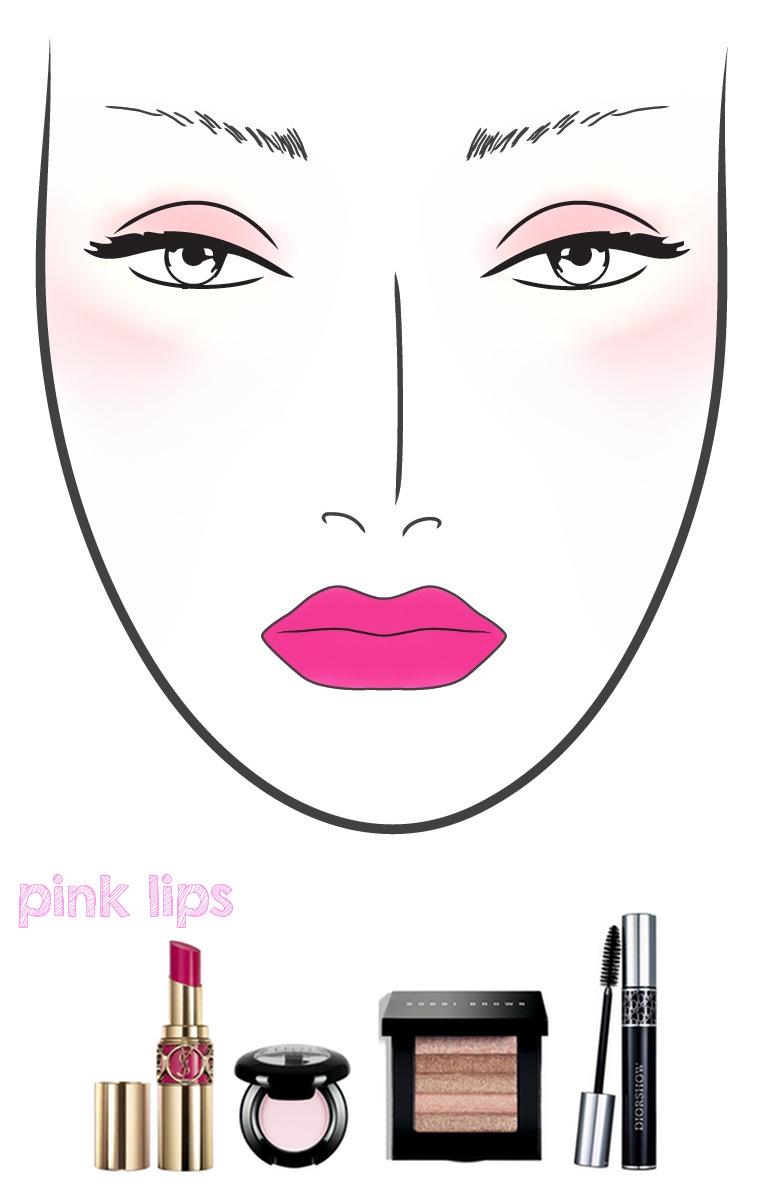 Pink Lips | The Makeup Lady - Pink Makeup