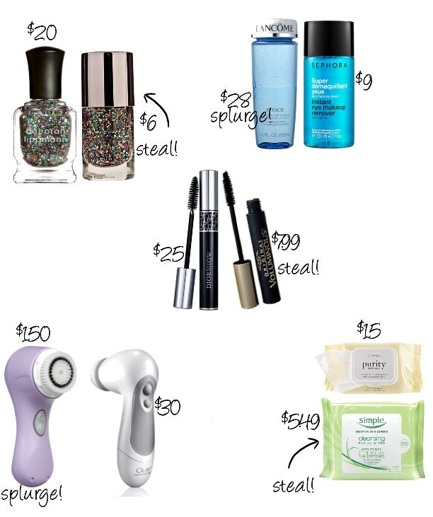 Steal vs Splurge April 2014 | The Makeup Lady | Style and Cheek's Favorite Blog Posts of 2014