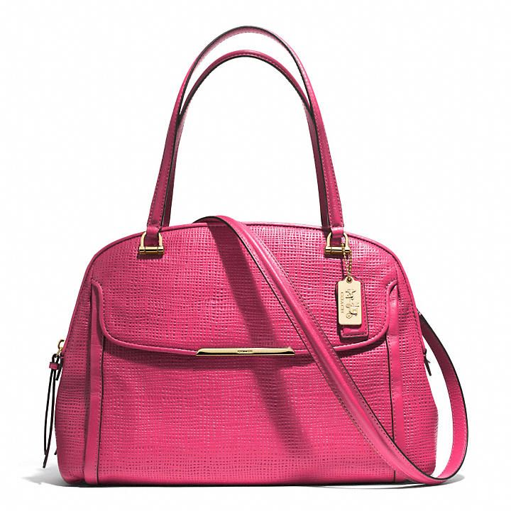 Coach Madison Georgie in Embossed Leather | Pinterest Picks - Mother's Day Gift Ideas