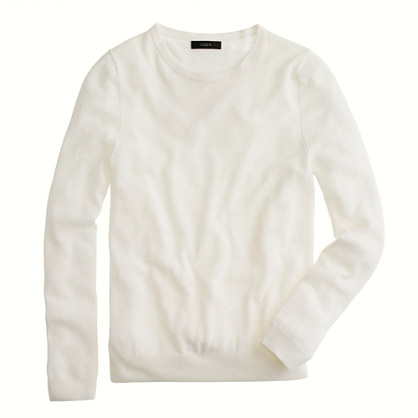 J.Crew Collection Featherweight Cashmere Long-sleeve Tee