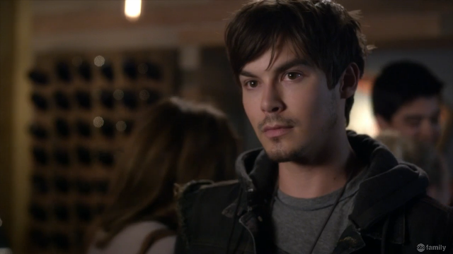 Oh shit Caleb is back! With really bad facial hair | Pretty Little Liars Miss Me x 100
