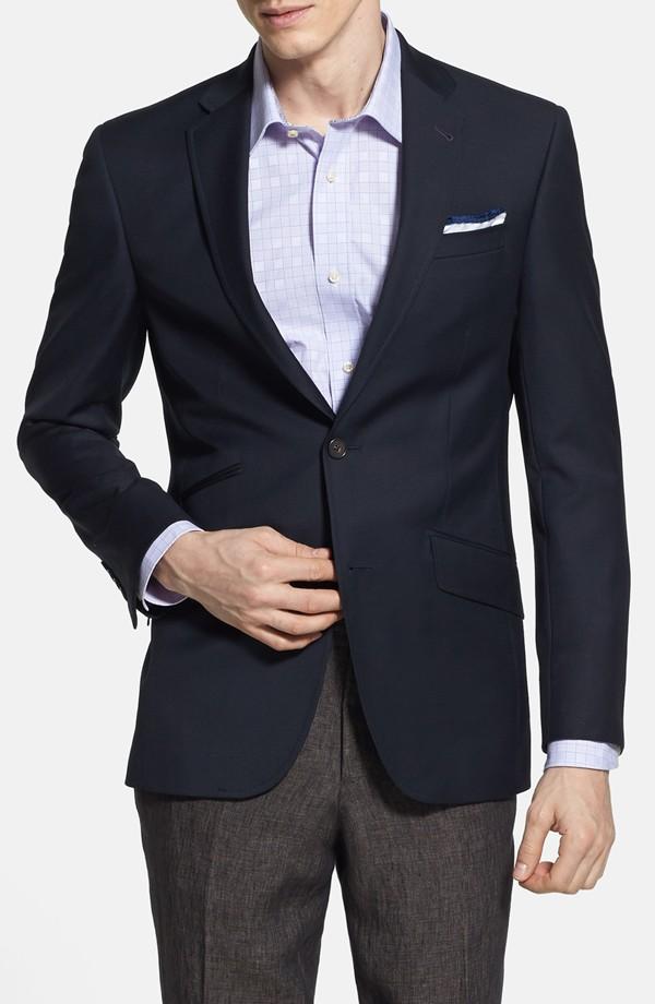 Ted Baker London 'Judd' Trim Fit Navy Wool Blazer | Nordstrom Anniversary Sale 2014 Picks for Men