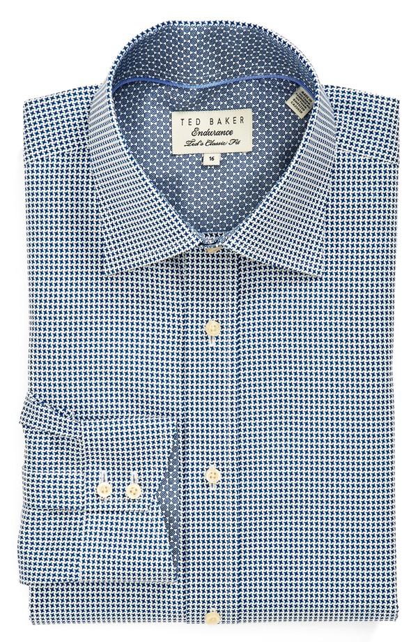 Ted Baker London Classic Fit Print Dress Shirt | Nordstrom Anniversary Sale 2014 Picks for Men