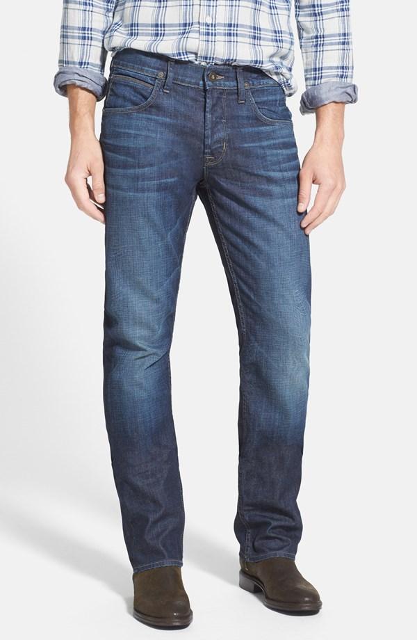 Hudson Jeans 'Byron' Straight Leg Jeans (Jetstream) | Nordstrom Anniversary Sale 2014 Picks for Men