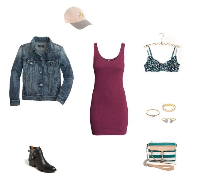 How She'd Wear It with Style and Cheek - Casual Baseball Cap and Dress | Baseball Cap and Dresses