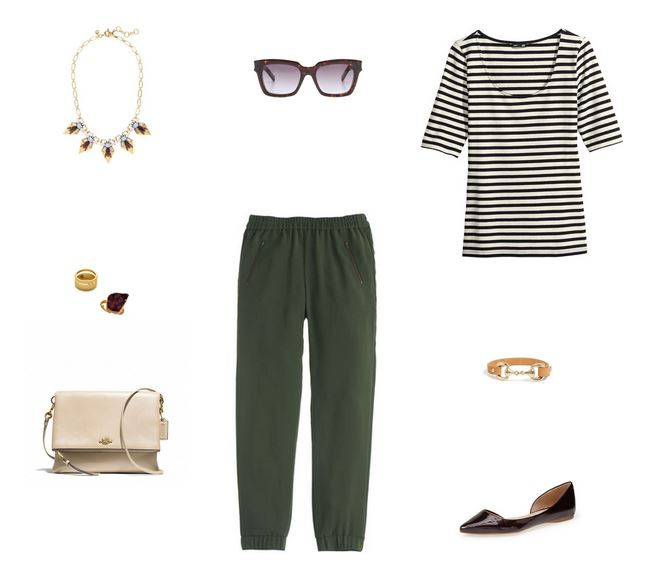 How She'd Wear It with Style and Cheek - Fancy Sweatpants / Luxe Sweatpants