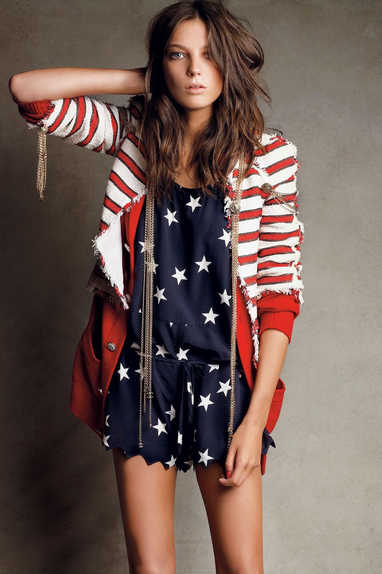 Daria Werbowy | Happy 4th of July
