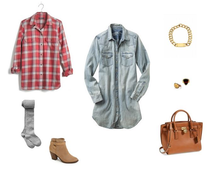 How She'd Wear It with Style and Cheek - Denim Dresses | Rustic Denim Dress