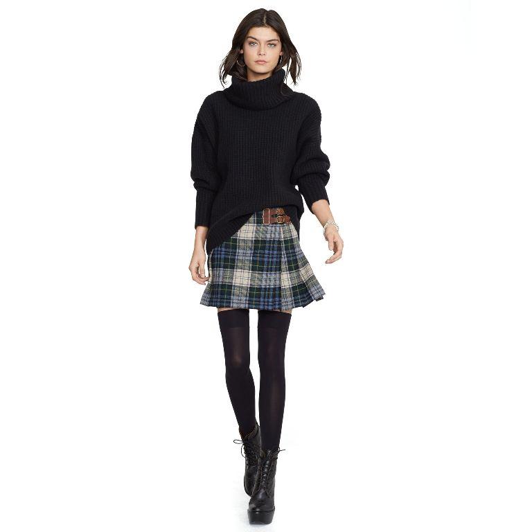 Polo Ralph Lauren Plaid Wool Miniskirt | Fancy Friday - Polo Ralph Lauren Fall Dresses and Skirts