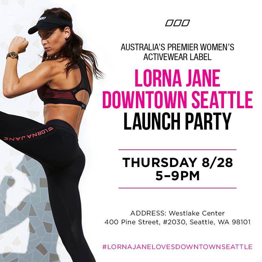 Lorna Jane Downtown Seattle Seattle Party