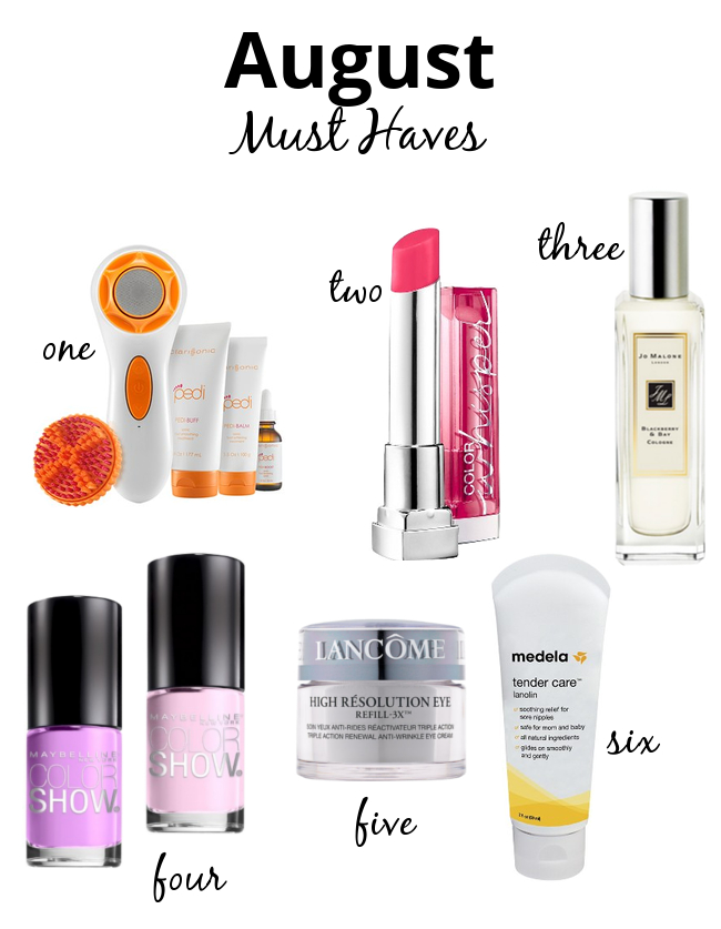 The Makeup Lady - August Beauty Must Haves