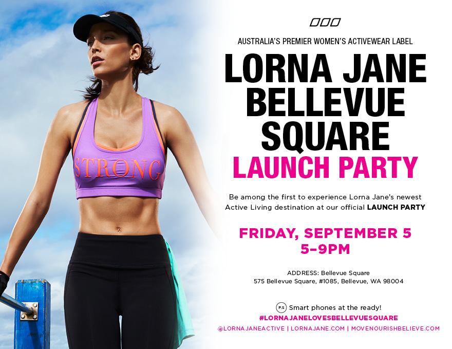 Lorna Jane Bellevue Square Launch Party | Lorna Jane Bellevue Square