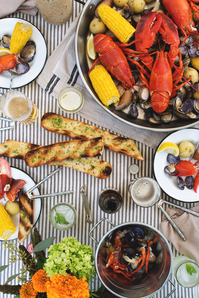 Honestly Yum Maine Lobster Boil | Happy Labor Day