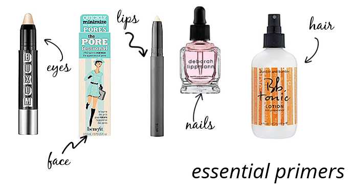 The Makeup Lady - Essential Primers | The Best Primers