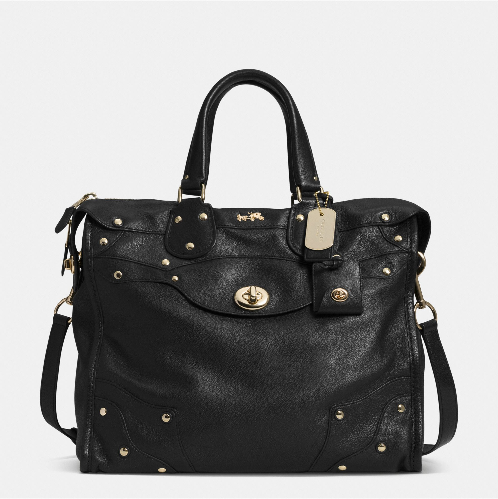 Coach Rhyder 33 Satchel in Soft Grain Leather | Fancy Friday – Coach Fall 2014 Collection