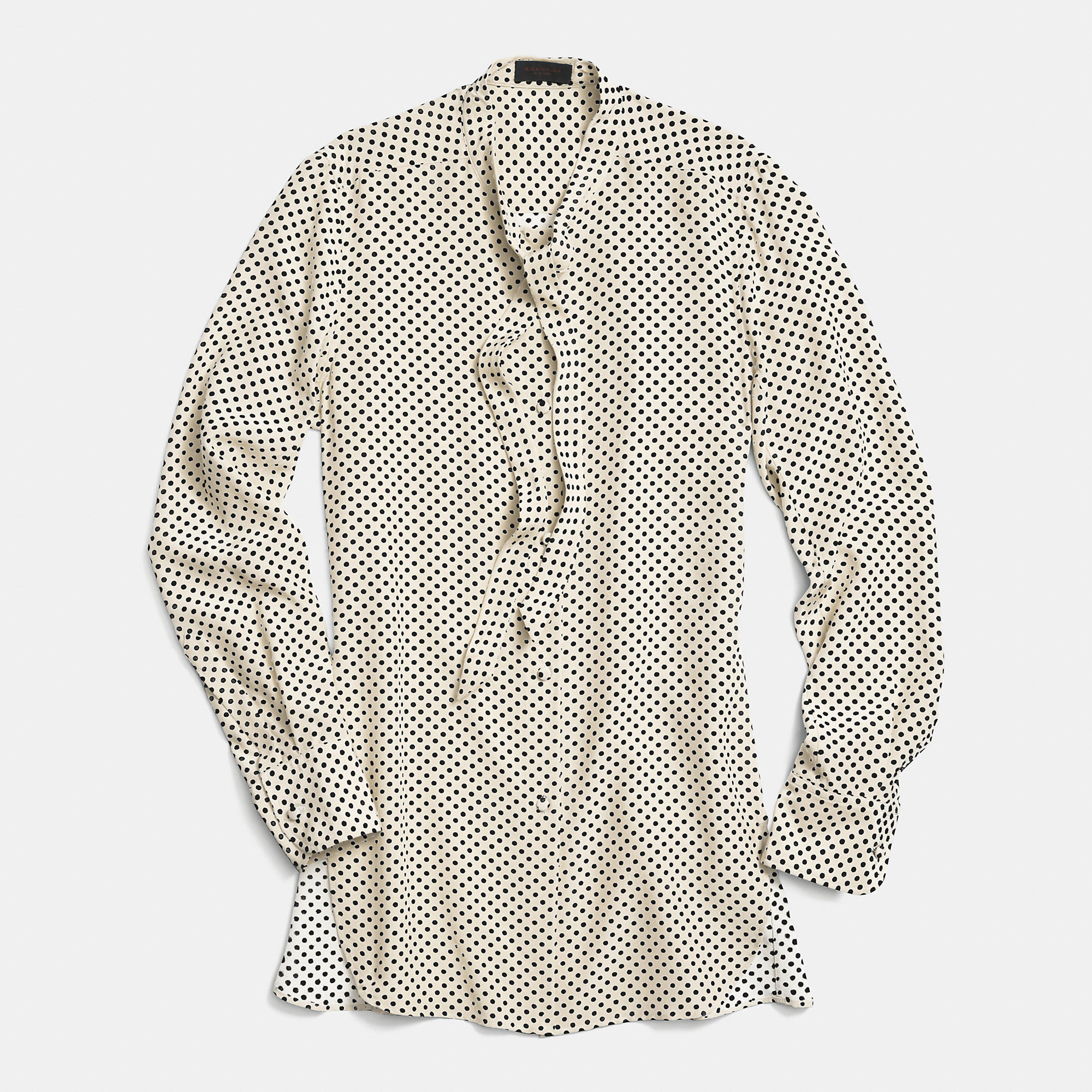 Coach Silk Tie Collar Shirt | Fancy Friday – Coach Fall 2014 Collection