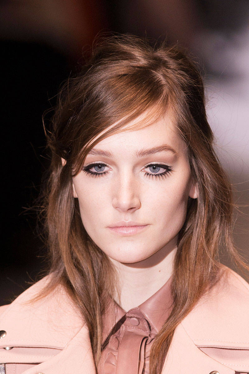Gucci Fall 2014 Ready-to-Wear Beauty | Pinterest Picks - Fall 2014 Runway Hairstyle Inspiration