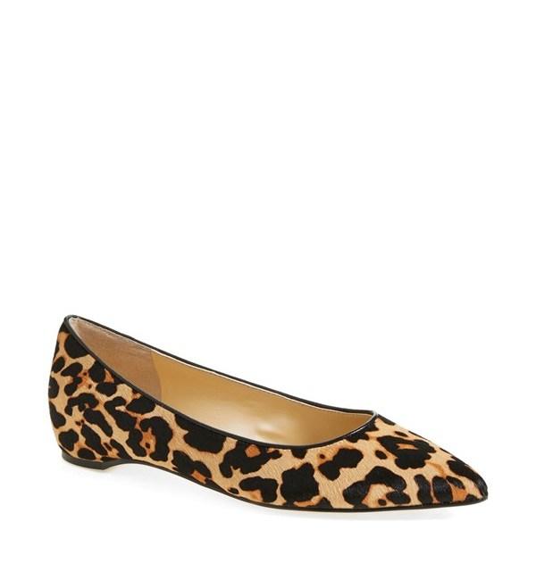 Ivanka Trump 'Chic3' Flat   Leopard Print Fall 2014