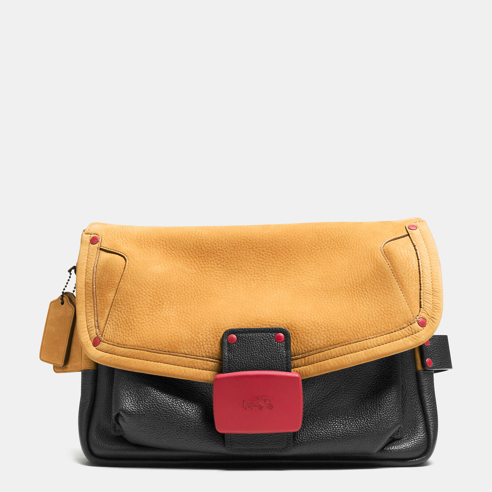 Coach Rhyder Flap Clutch in Workwear Leather | Fancy Friday – Coach Fall 2014 Collection