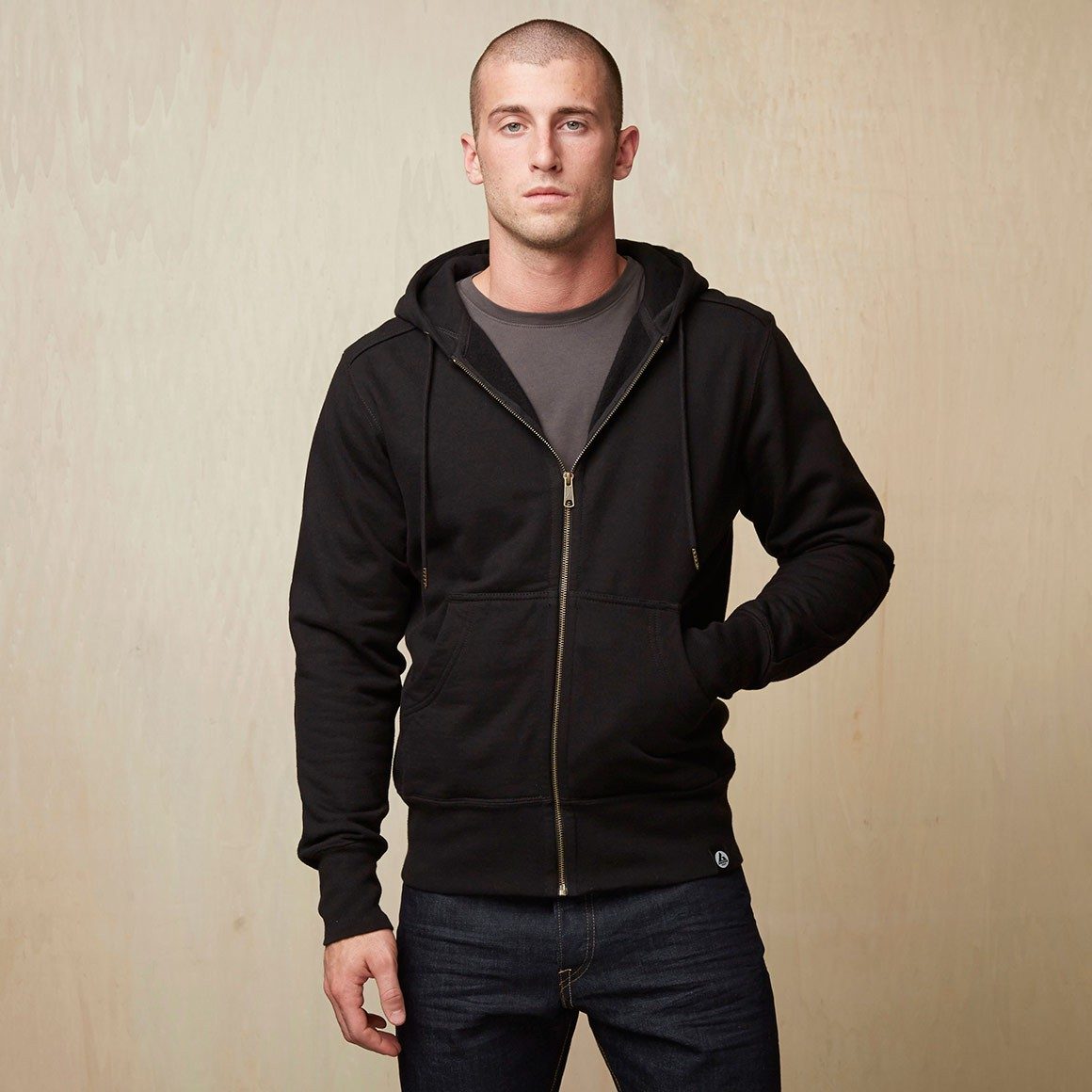 American Giant Mens Heavyweight Full Zip Hooded Sweatshirt | 10 Fall Wardrobe Essentials for Men