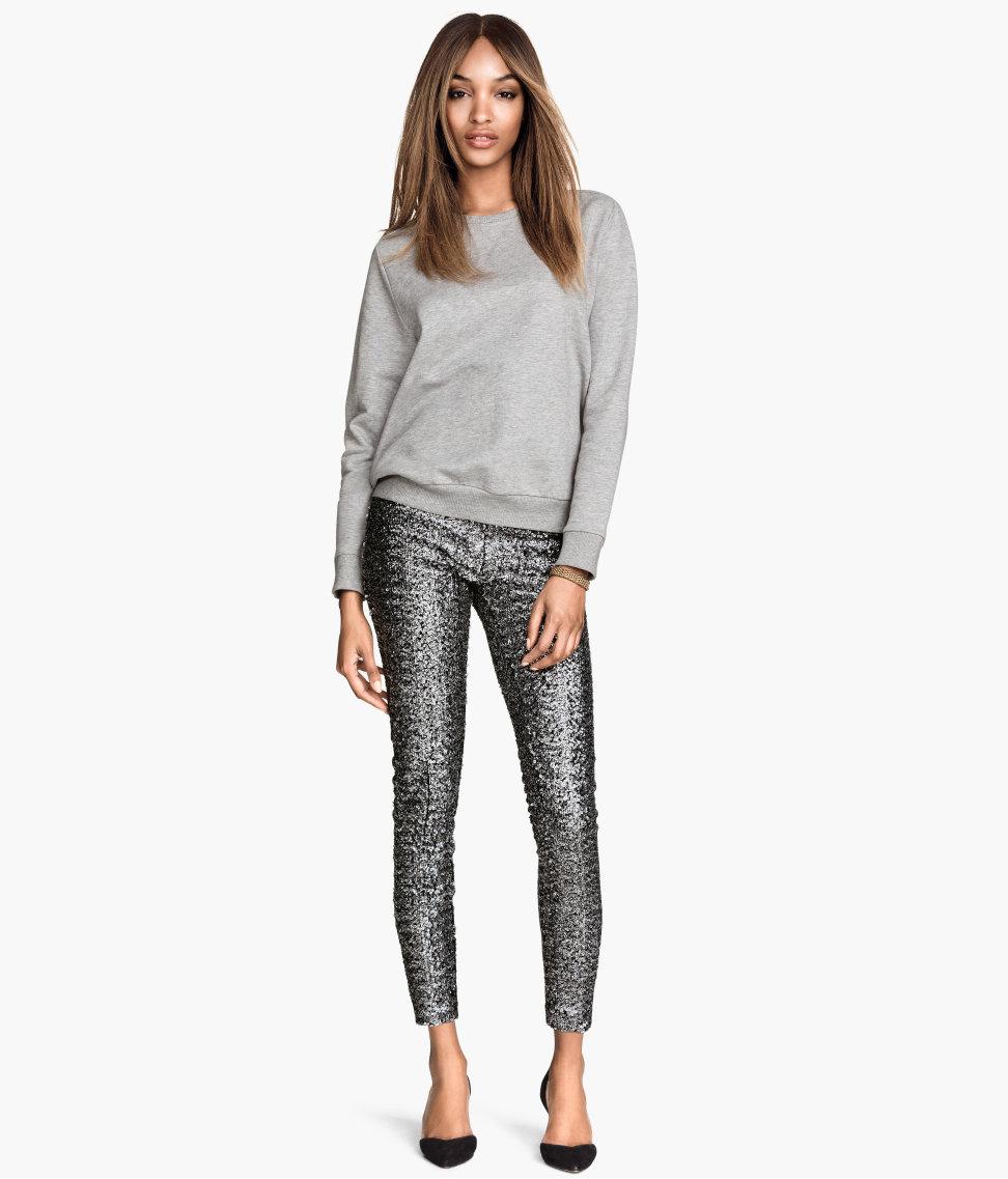 H&M Sequin Pants