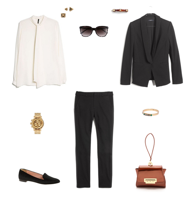 How She'd Wear It with Style and Cheek - Menswear Inspired Women's Tuxedo