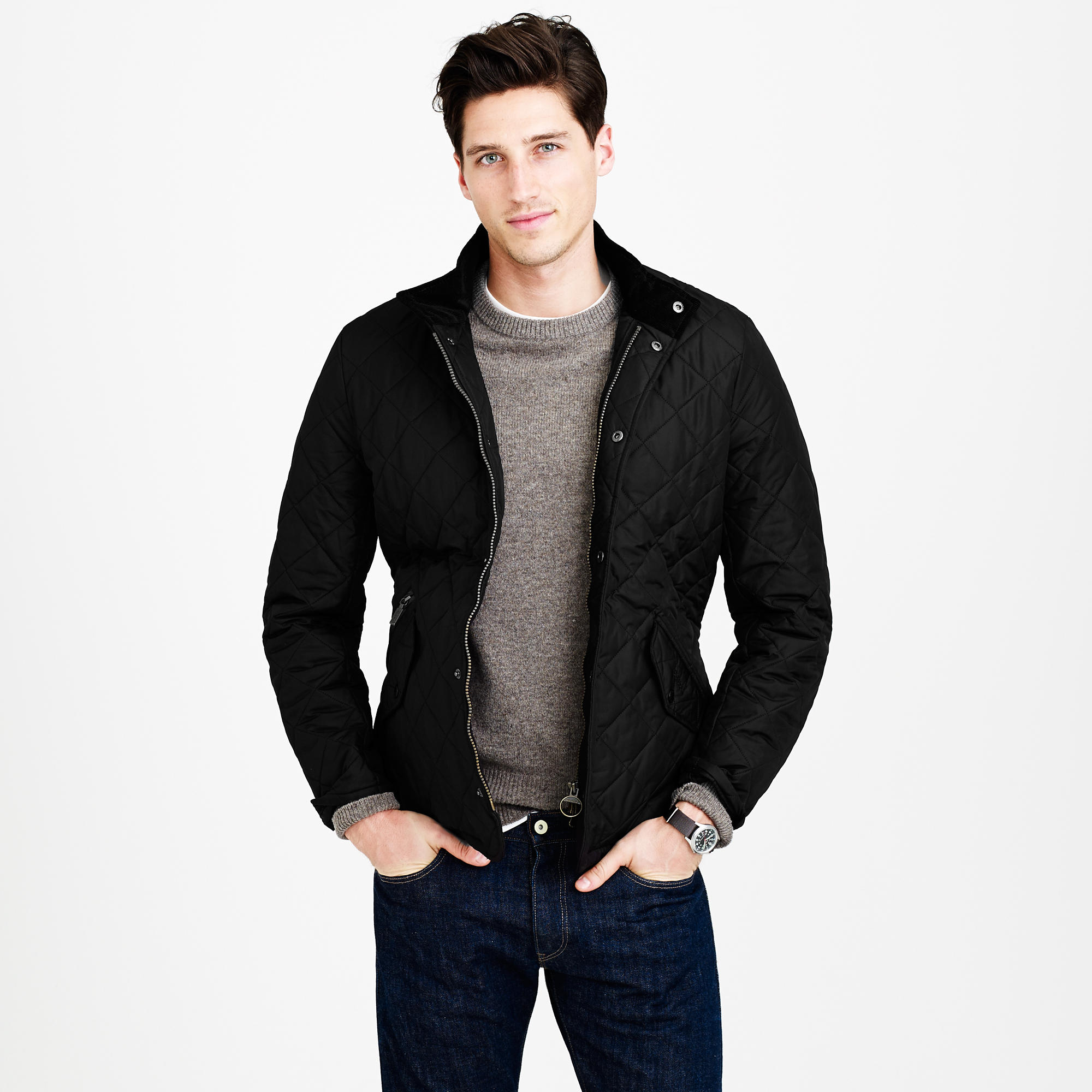J.Crew Barbour® Chelsea Sportsquilt Jacket | 10 Fall Wardrobe Essentials for Men