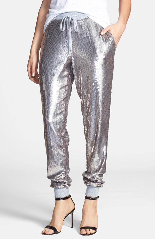 MICHAEL Michael Kors Sequin Track Pants - Sequin Pants