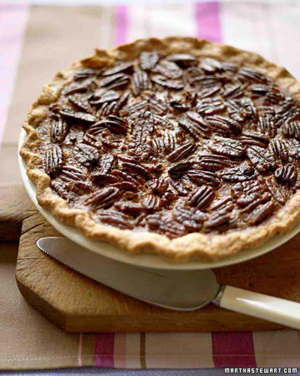Pecan Pie | Martha Stewart | Thanksgiving Pie Recipes