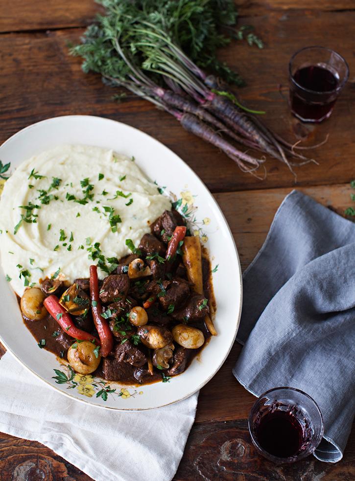 Recipe, Beef Bourguignon | Sunday Suppers | Pinterest Picks - Thanksgiving Alternatives to Turkey