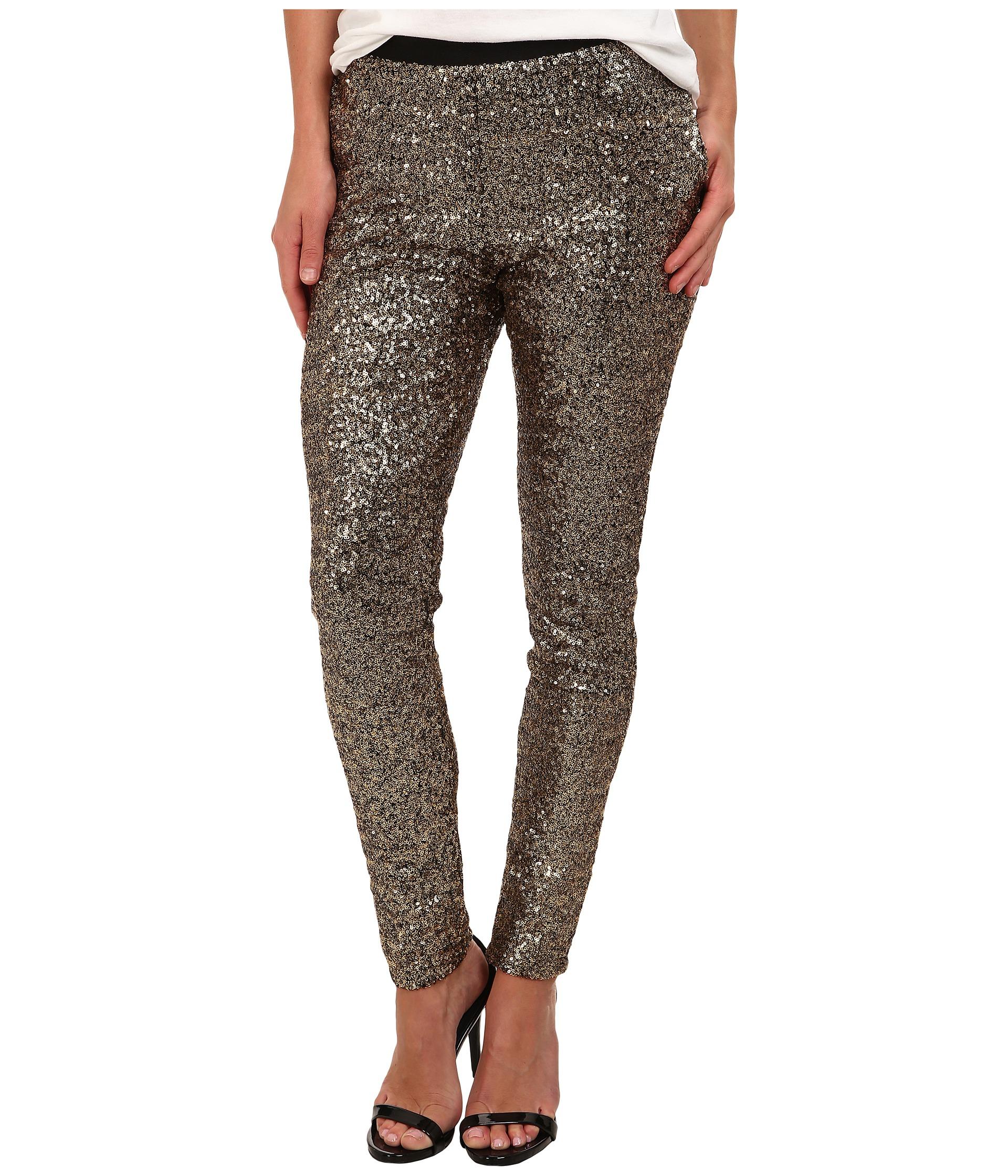 StyleStalker Goldfinger Sequin Pants