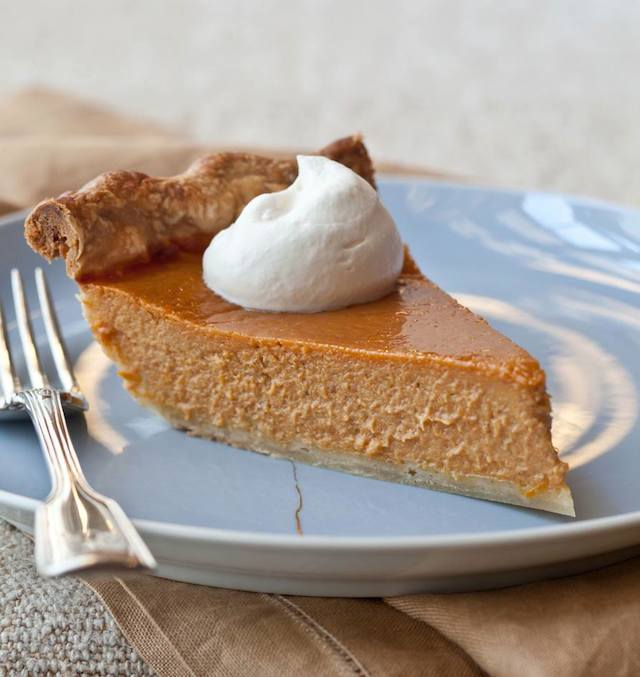 Ultimate Pumpkin Pie with Rum Whipped Cream photo by Quentin Bacon | Barefoot Contessa | Thanksgiving Pie Recipes