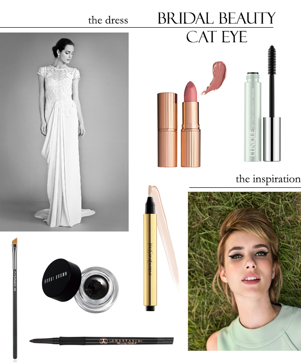 Bridal Beauty with Loverly: The Cat Eye | Style and Cheek's Favorite Blog Posts of 2014